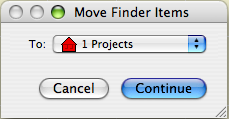 Move Finder Items