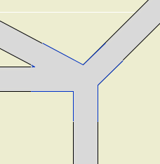 Angled intersection plan fixed