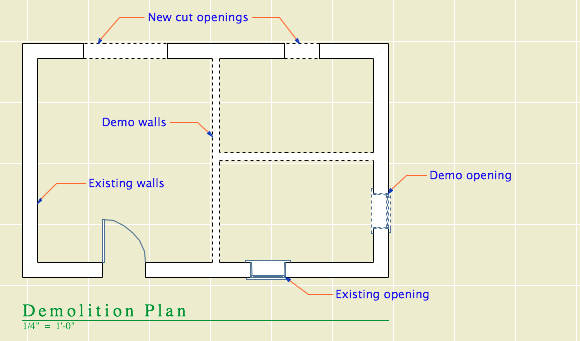 Demolition Plan