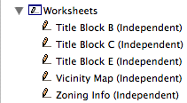 Worksheet IDs